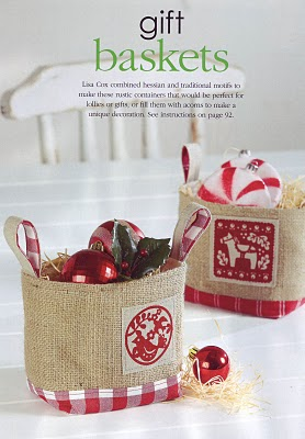 More christmas projects a spoonful of sugar for Homemade christmas gift baskets for couples
