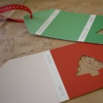 Postage Stamp Gift Tags