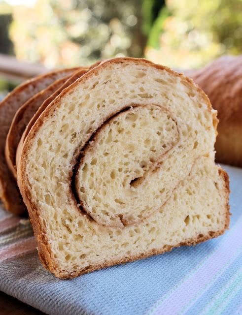 Cinnamon Swirl Bread - A Spoonful of Sugar