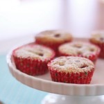 Raspberry and Lemon Muffins
