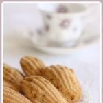 Almond Praline Madeleines