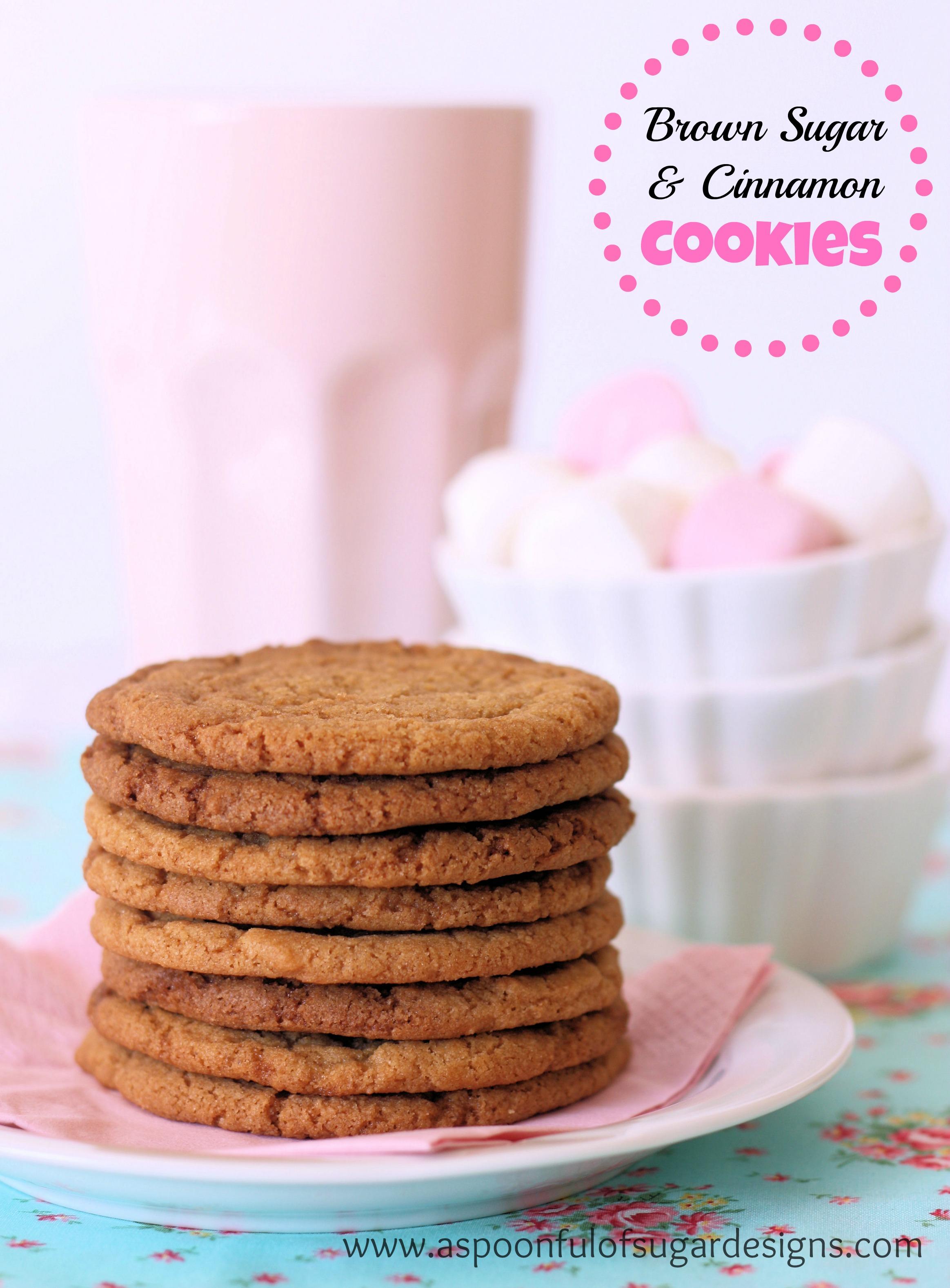 Brown Sugar and Cinnamon Cookies
