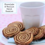 Chocolate and Vanilla Swirl Cookies
