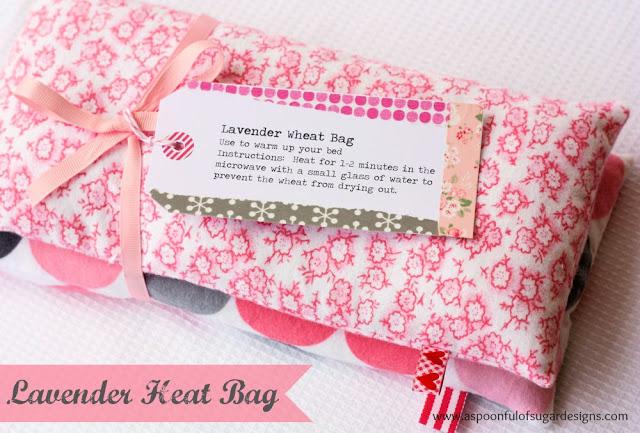 Lavender Heat Bag - A Spoonful of Sugar