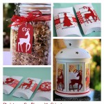 Christmas Paper Crafts + {Giveaway} Win a Cricut Mini Digital Cutter