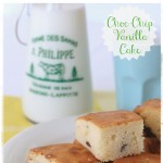 Easy Chocolate Chip and Vanilla Cake