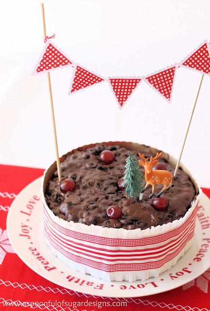 How To Make A Christmas Cake Frill