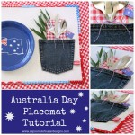 How to Make a Patriotic Placemat {Sewing Tutorial}