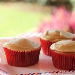 Spice Cupcakes with Brown Sugar Icing