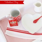 Valentines Breakfast Tray