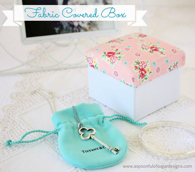 Mother 39 s day crafts a spoonful of sugar for Fabric covered boxes craft