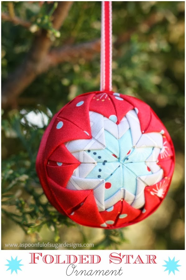 Folded Star Ornament - A Spoonful of Sugar