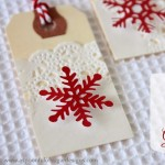 Snow+Flake+Gift+Tags