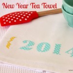 New Year Tea Towel 1