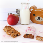 Chewy Honey Coconut Granola Bars