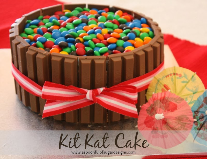 Kitkat Chocolate Cake Images : Kit Kat Birthday Cake - A Spoonful of Sugar
