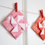 Origami Pinwheel Envelopes