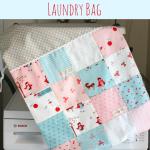 Charm Square Laundry Bag
