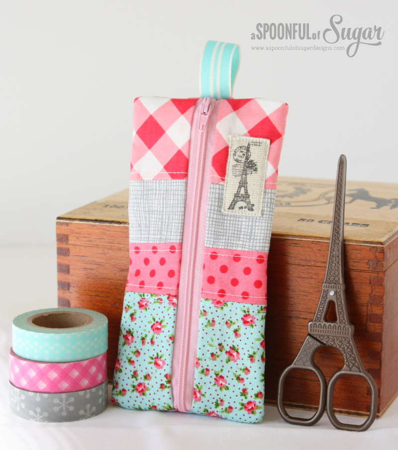Patchwork Pencil Pouch