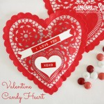 Valentine Candy Heart - A Spoonful of Sugar