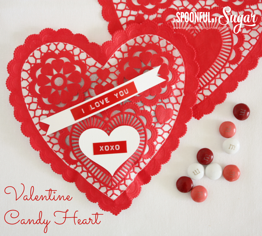 Valentine Candy Heart 1