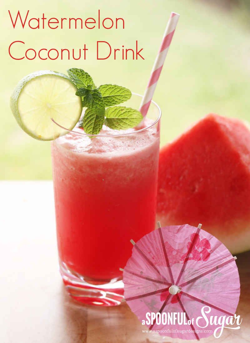 Watermelon Coconut Drink  4