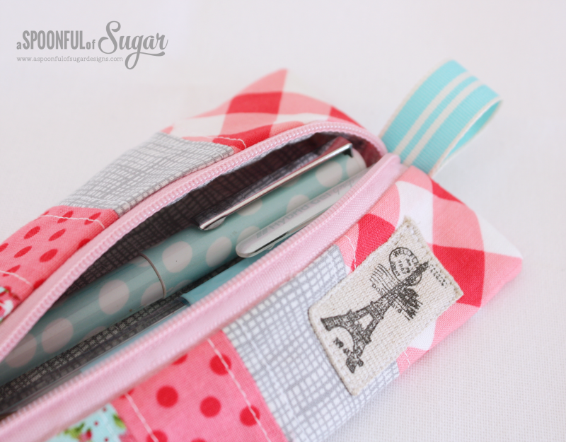 Zippered Pencil Case 1