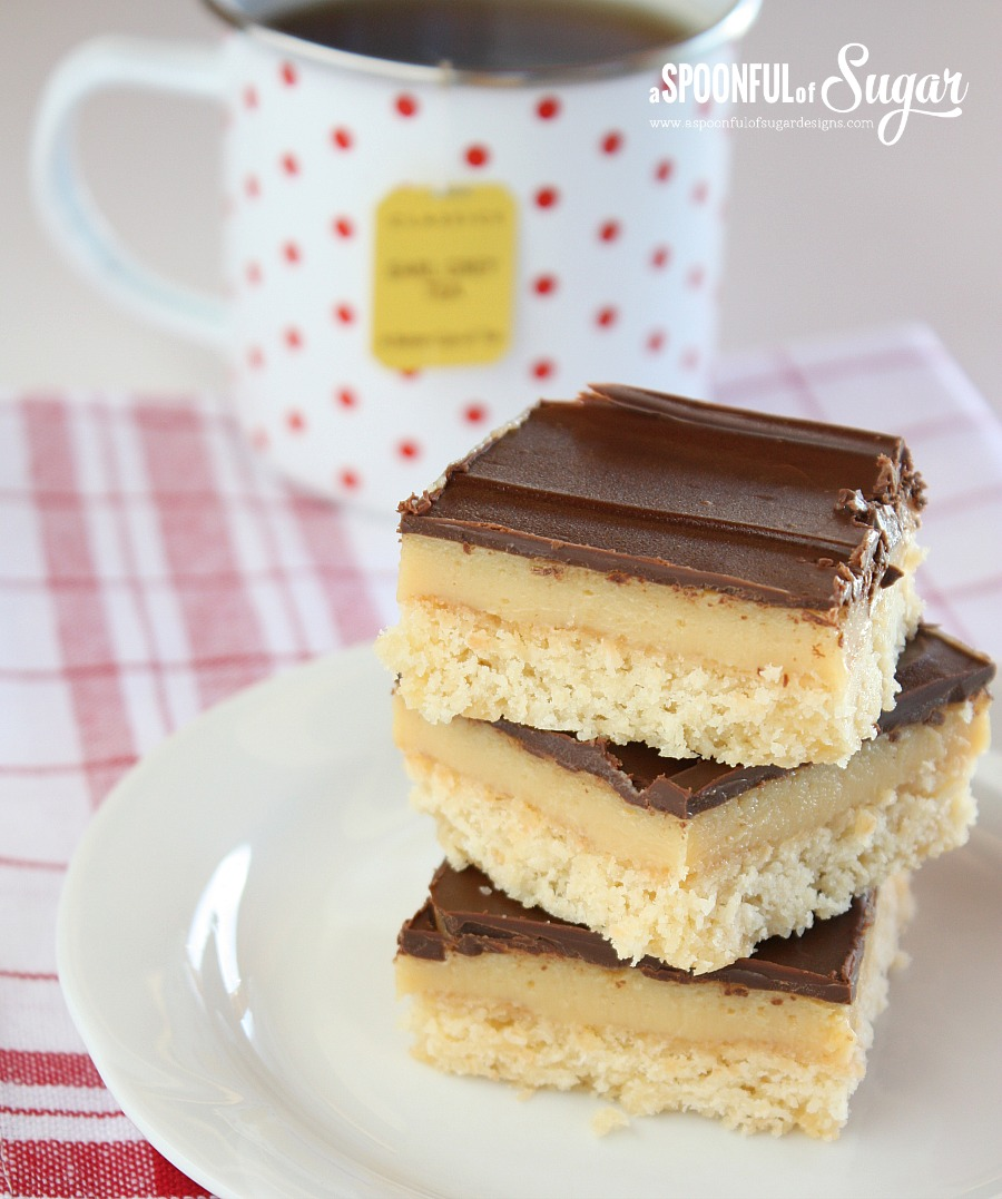 Chocolate Caramel Slice