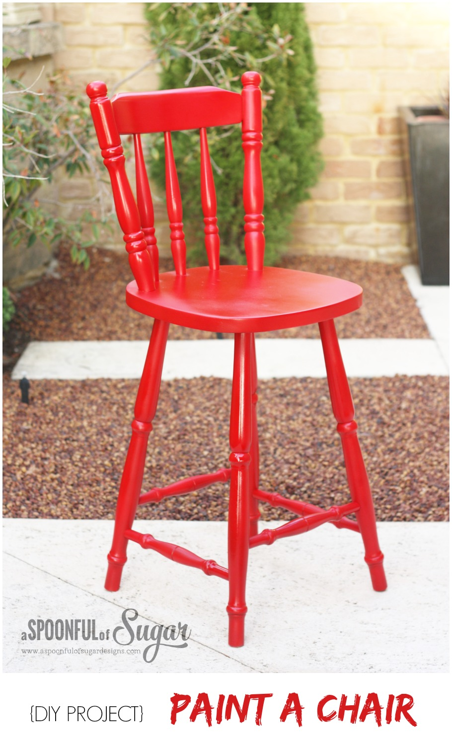 {DIY PROJECT} Paint a Chair
