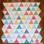 Mormor Triangle Quilt