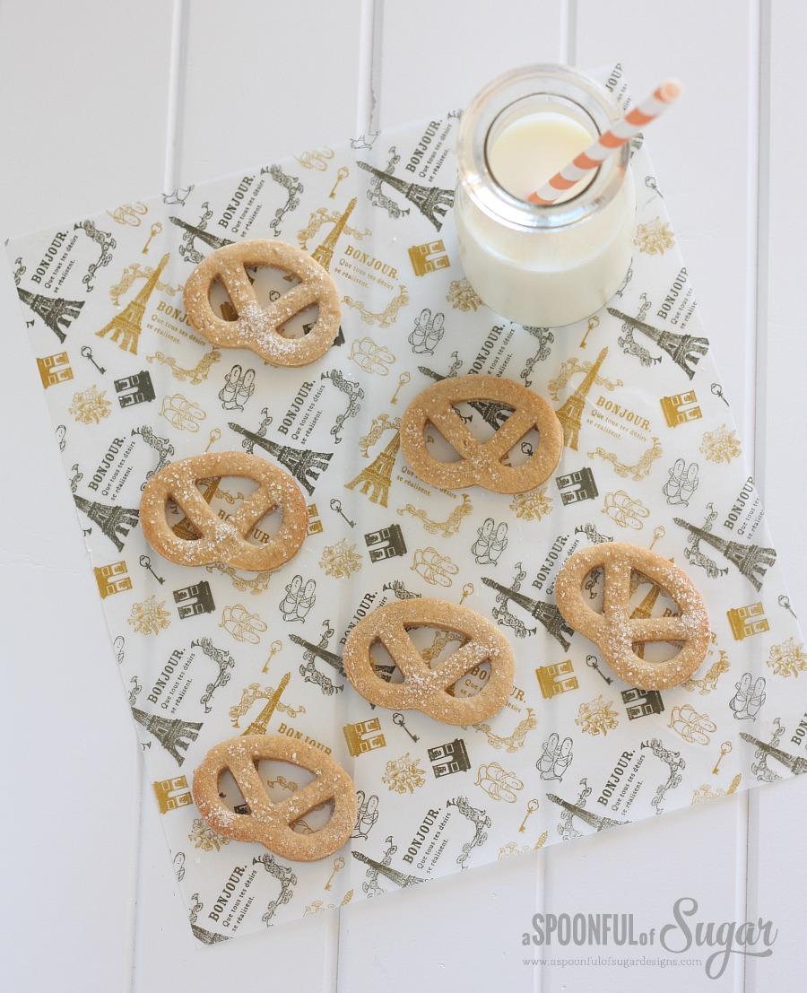 Brown Sugar Pretzel Cookies 2