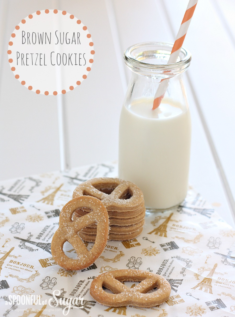 Brown Sugar Pretzel Cookies 3