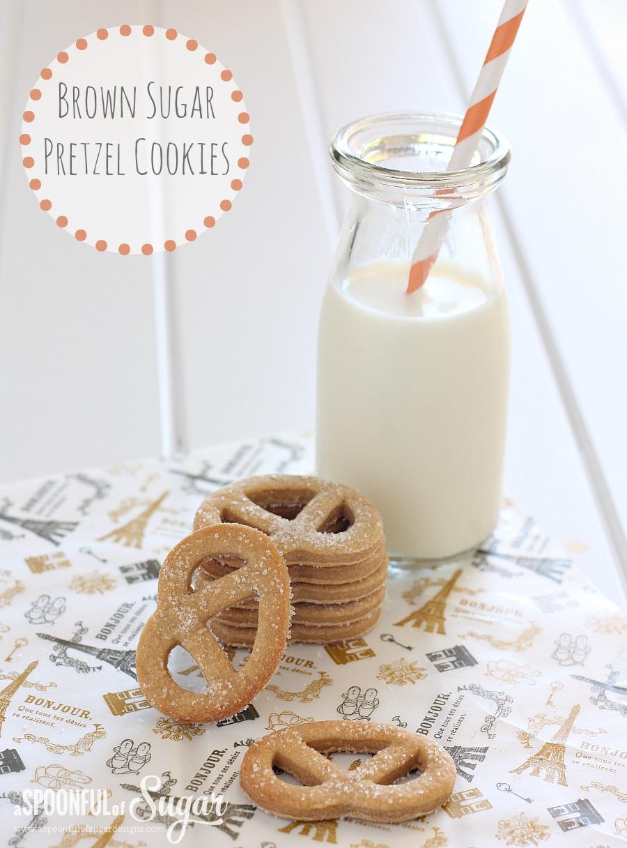 Brown Sugar Pretzel Cookies 3