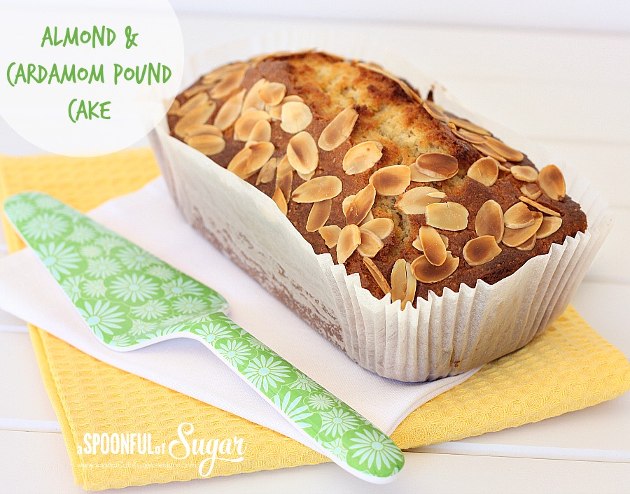 Almond and Cardamom Pound Cake