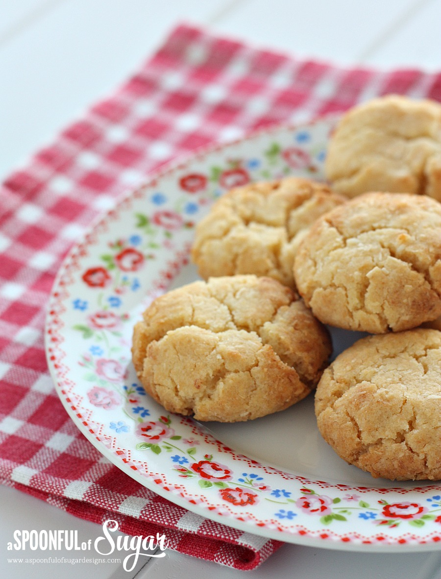 Honey Coconut Cookies