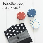 Men's Business Card Wallet