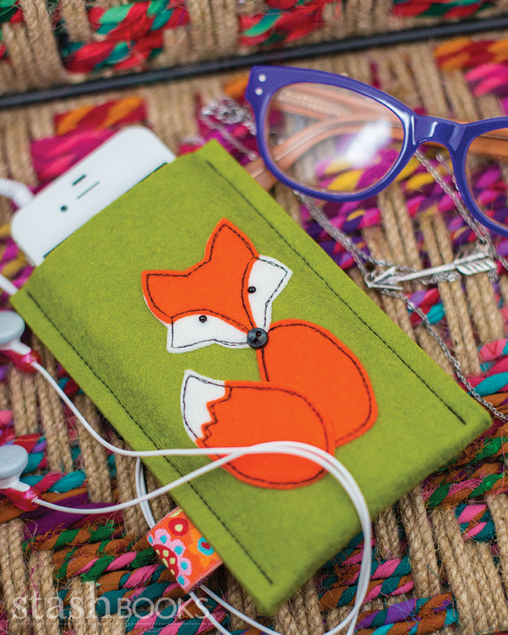 Fox Cell Phone Cover desigbned by A Spoonful of Sugar