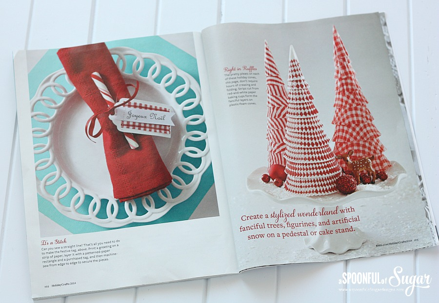 Holiday crafts 2014 a spoonful of sugar Better homes and gardens website australia