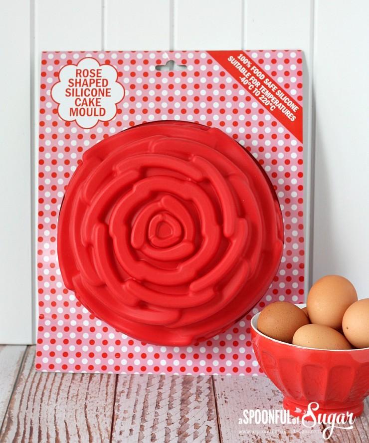 Rose Cake Mould