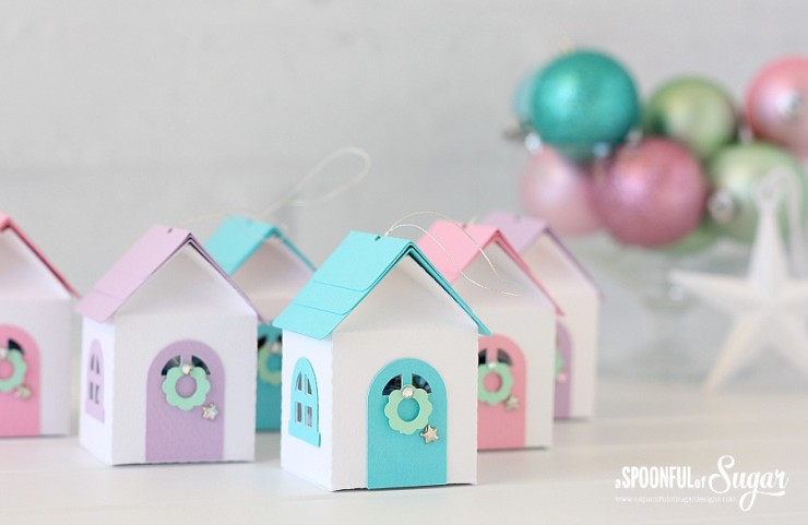 3D Christmas House Ornament