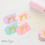 Joy Christmas Gift Tags