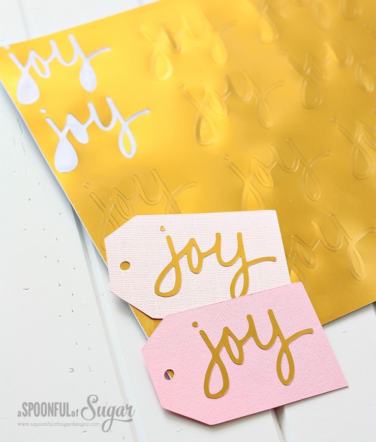 Joy Christmas Tags