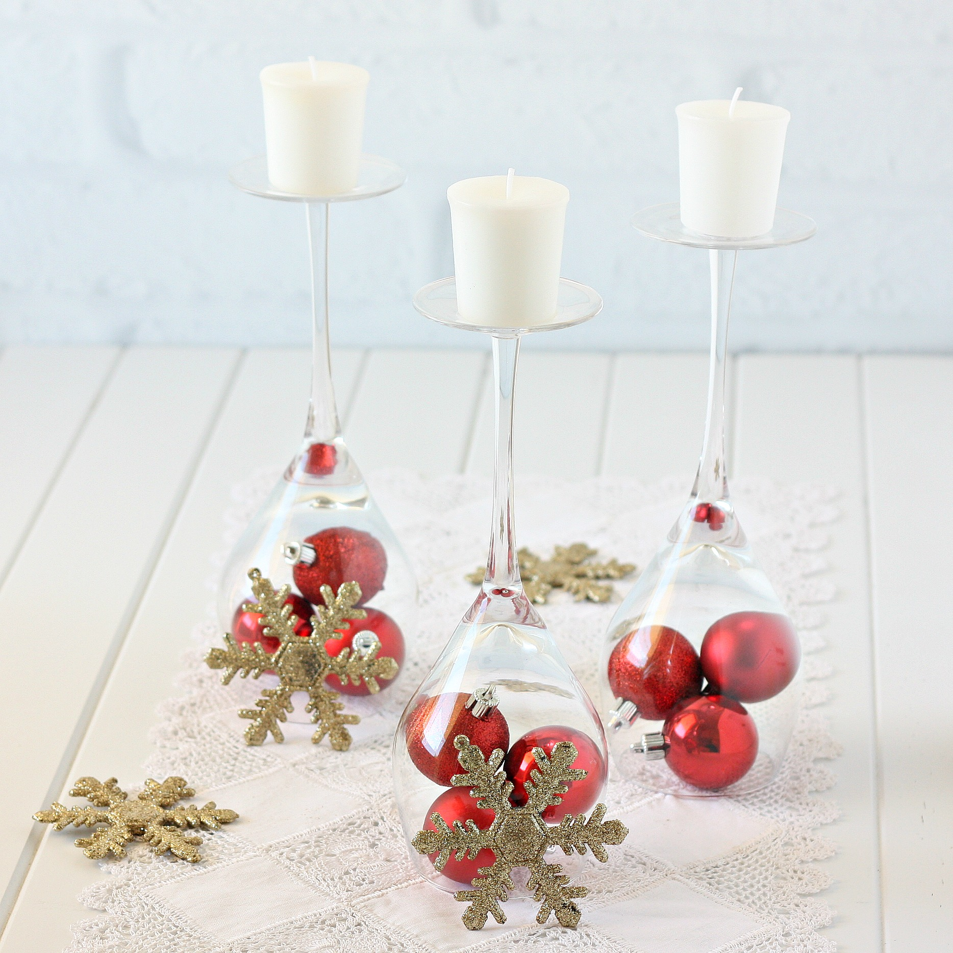 Simple christmas decorating for Simple christmas decorations to make