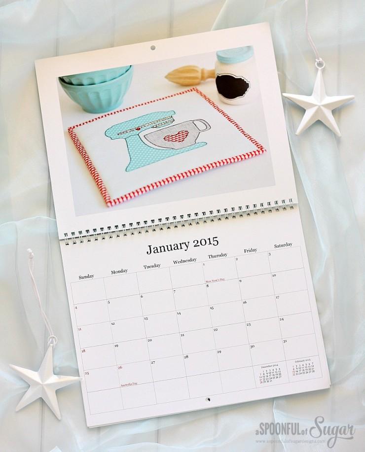 Crafty Calendar by A Spoonful of Sugar