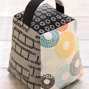 Contempo Door Stop Pattern by A Spoonful of Sugar