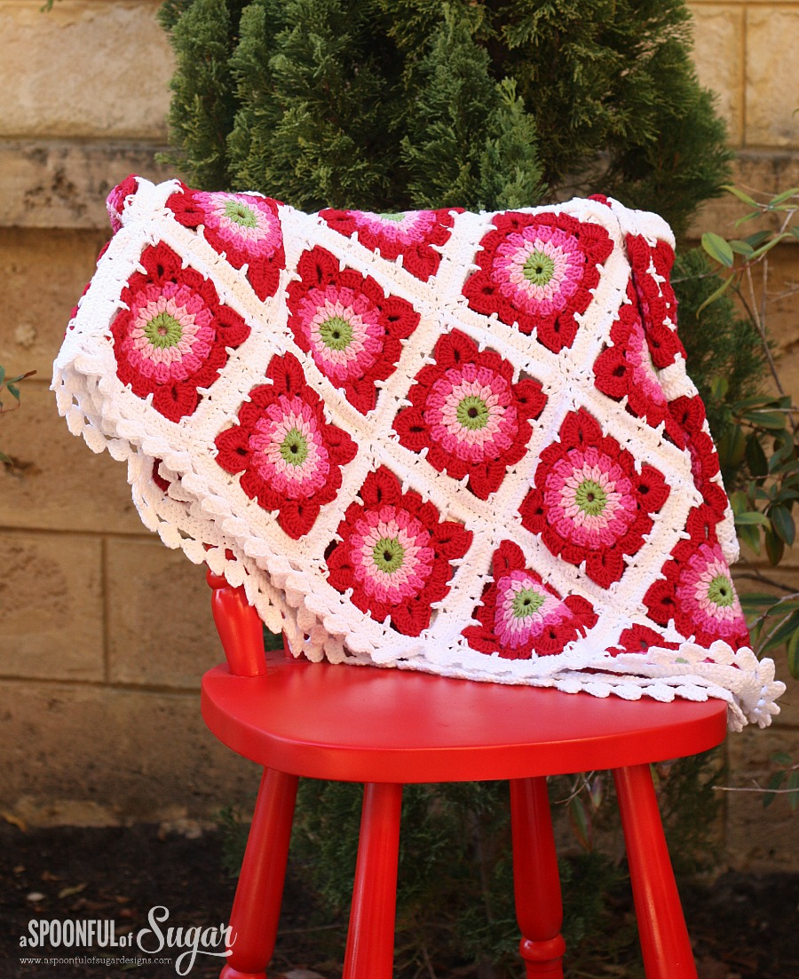 Crochet Rug by A Spoonful of Sugar