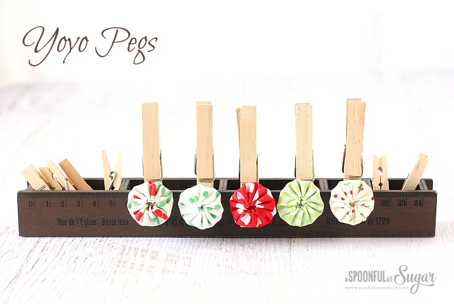 Yoyo Pegs by A Spoonful of Sugar