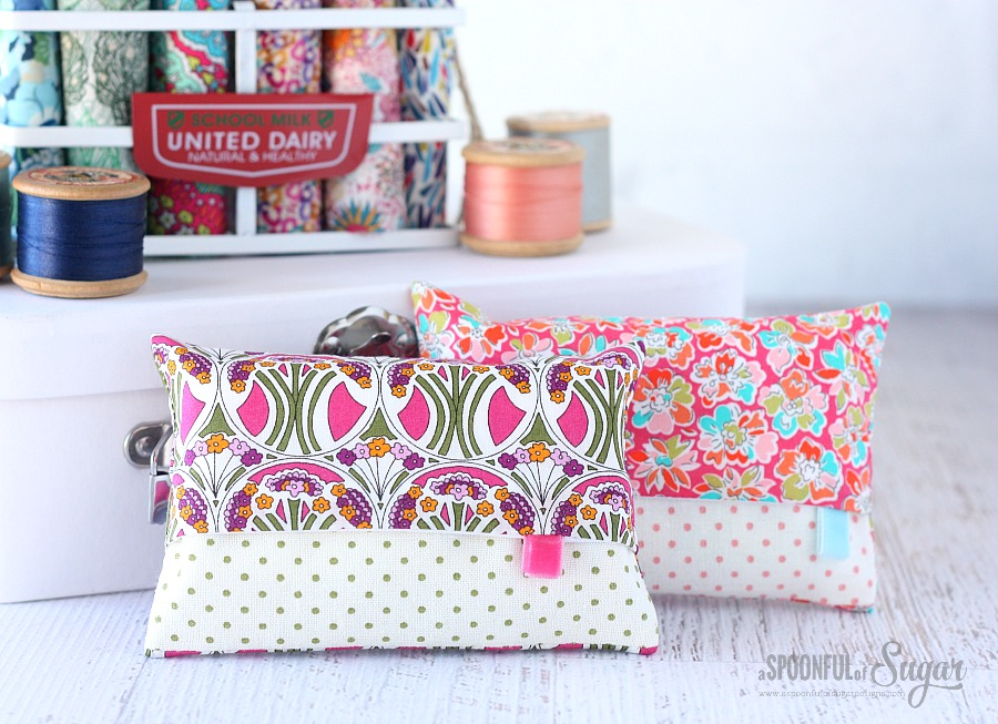 Liberty Tissue Cover tutorial by A Spoonful of Sugar