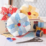 Scrappy Star Pincushion
