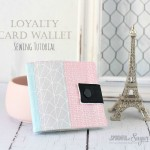 {Sewing Tutorial} Loyalty Card Wallet